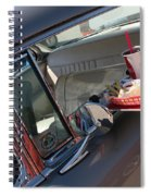 55 Bel Air Door-8190 Spiral Notebook