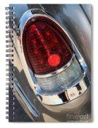 55 Bel Air Tail Light-8184 Spiral Notebook