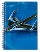 55 Chevrolet Hood Ornament Spiral Notebook