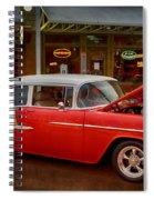 55 Chevy Belair Spiral Notebook