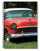 55 Chevy Spiral Notebook
