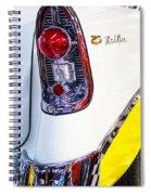 56 Chevy Bel-air Tail Light Spiral Notebook