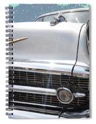 57 Bel Air Hood Rockets Spiral Notebook