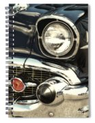 57 Chevy Headlight Spiral Notebook