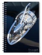 57 Chevy Hood Ornament Spiral Notebook