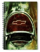 57 Chevy Taillight  Spiral Notebook