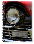 57 Ford Spiral Notebook