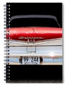 59 Ford Galaxy 500 Spiral Notebook