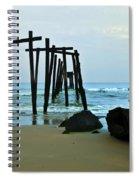 59th Street Pier Ocean City   Spiral Notebook