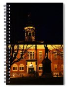 5am At Port Hope Town Hall Spiral Notebook