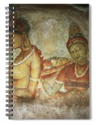 5th Century Cave Frescoes Spiral Notebook