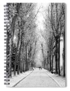 Pere-lachais Cemetery In Paris France Spiral Notebook