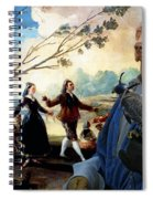 Weimaraner Art Canvas Print  Spiral Notebook