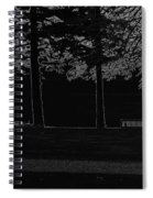 A Bench And Path On The Shore Of Loch Ness In Scotland Spiral Notebook