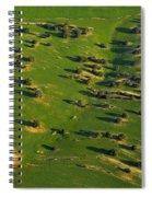 Aerial Geometries Spiral Notebook