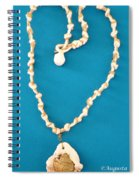 Aphrodite Antheia Necklace Spiral Notebook