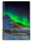 Aurora Borealis Or Northern Lights Spiral Notebook
