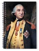 Baron Friedrich Von Steuben Spiral Notebook