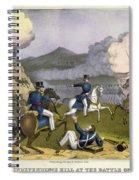 Battle Of Monterrey, 1846 Spiral Notebook