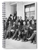 Booker T. Washington Spiral Notebook