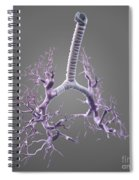 Bronchial Branches Spiral Notebook