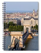 Budapest Cityscape Spiral Notebook