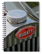Bugatti Type 57 Spiral Notebook