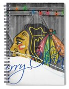 Chicago Blackhawks Spiral Notebook