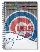 Chicago Cubs Spiral Notebook