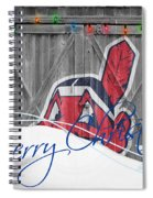 Cleveland Indians Spiral Notebook