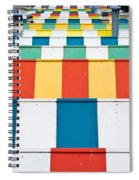 Colorful Roofs Spiral Notebook