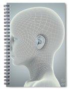 Digital Being Spiral Notebook
