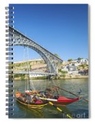 Dom Luis Bridge Porto Portugal Spiral Notebook