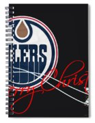 Edmonton Oilers Spiral Notebook