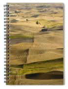 Farm Fields Spiral Notebook