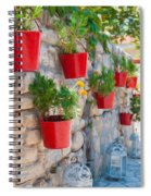 Flower Pots 2 Spiral Notebook
