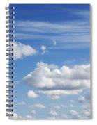 Fluffy Clouds Spiral Notebook