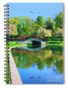 Flyover Spiral Notebook