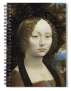 Ginevra De Benci Spiral Notebook