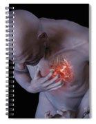 Heart Attack Spiral Notebook