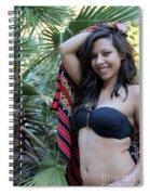 Hispanic Beauty Spiral Notebook