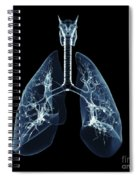 Human Lungs Spiral Notebook