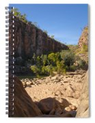 Katherine Gorge Landscapes Spiral Notebook