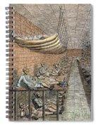 London: Debtors Prison Spiral Notebook