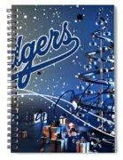 Los Angeles Dodgers Spiral Notebook