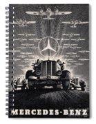 Mercedes - Benz Spiral Notebook