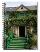Monets Garden - Giverney - France Spiral Notebook