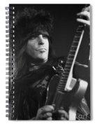 Motley Crue Spiral Notebook