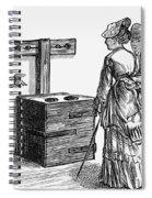 Newgate Prison, 1873 Spiral Notebook
