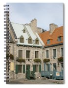 Old Town Quebec - Canada Spiral Notebook